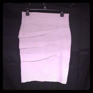 Pencil Skirt White